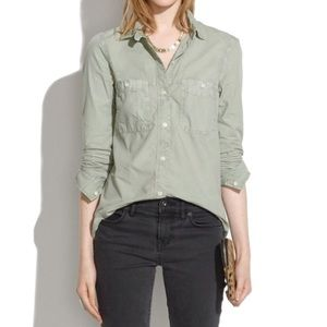 Madewell Washed Cotton Button Down